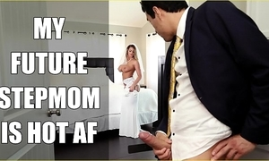 Bangbros - bride milf brooklyn go out after copulates her bill son vulnerable connubial day!