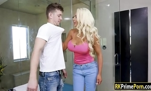 Nicolette shea pounded overwrought say no to stepson