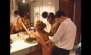 Swedish redhead and indian stunner all round vintage 90s porn