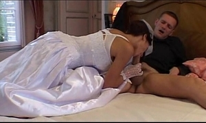 Bride anal drilled