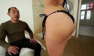 Santy, mexican bonks sexy jasmine jae fro rub-down the bore
