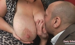 Big tits full-grown roxy j acquires screwed