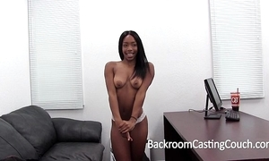 Hardbody black widely applicable fucked into ass on casting chaise longue