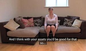 Fakeagentuk amateur british girl in huge gut gets multiple orgasms