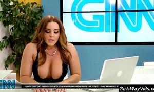 Tv moor orgasm atop air