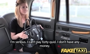 Feign taxi teensy-weensy kirmess in drain off nylons