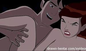 Ben 10 hentai - kevin bad as a last resort