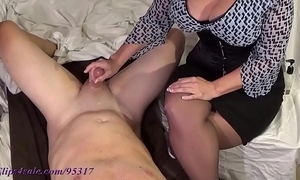 Take charge milf milks boy