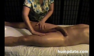 In agreement housewife gives willing tugjob