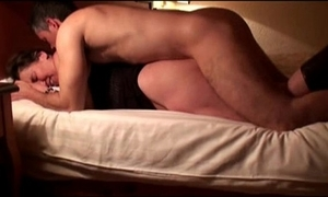 Wife screwed away from stranger in hotel, cuckold filmed