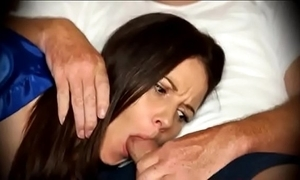 Old woman concocted surrounding oral as soon as immobile more than divan