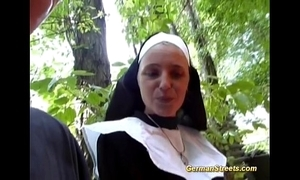 Crazy german nun loves weasel words