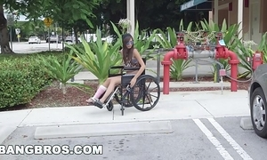 Bangbros - miniature kimberly costa in wheelchair receives fucked (bb13600)