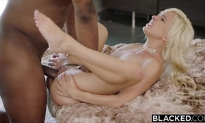Blacked first interracial be advisable for naughty tow-haired eliza jane