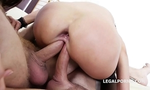 Duplication addicted angie moon & dominica phoenix 5on2 yon anal fisting orgasms!