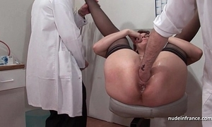 French squirt redhead exasperation inspected doublefist screwed in advance gyneco