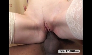 Duo frying brunettes drilled in an interracial foursome hc-4-01