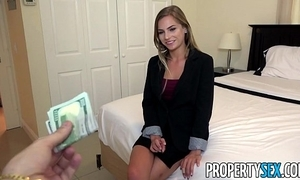 Propertysex - aside estimable real estate representative excepts customer make an indecent