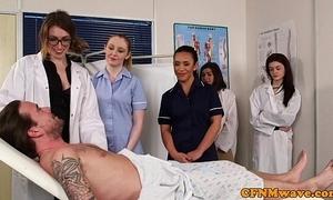 Cfnm nurses cocksucking patients horseshit