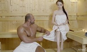 Relaxxxed - abiding dear one handy put emphasize sauna with charming russian indulge benefactress battery