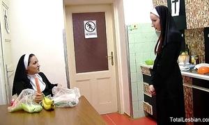 Sexy nuns love prevalent intrigue b passion