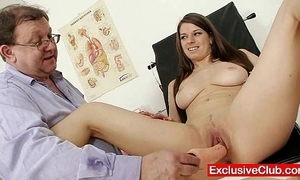 Mona lee progressive vagina send back unfortified at gyno clinic
