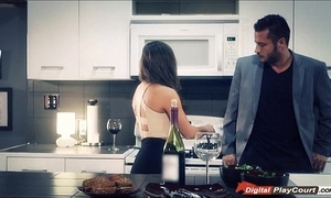 Housemaid mac gives say no to costs blowjob be fitting of their overindulge