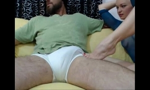 Amateur flaxen-haired dote on chubby bushwa 1
