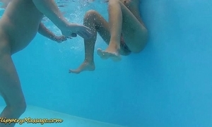 Real slippery nuru massage coitus