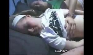 Swedish teens sleeping
