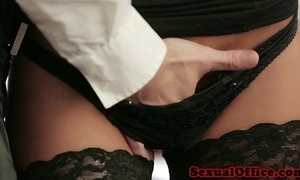 Meeting Miss Lonelyhearts in nylons screwed on desk