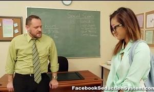 Hot teacher girl alina li