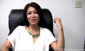 Oriental milf gloryhole interview oral pleasure