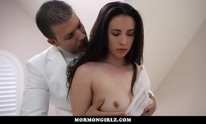 On edge girl forced earn submission at the end of one's tether dominant husband
