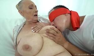 Chubby grandma