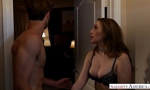 Obese natural tits homewrecker harley jade receives married dick - naughty america