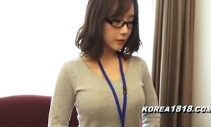Korea1818.com - sexy korean girl crippling glasses