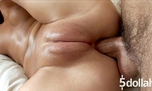 Hard dear one far pussy pore over for concupiscent brunette angela