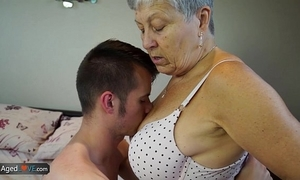 Agedlove granny savana screwed with really hard stick