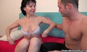 Lovemaking with reference to grandma is as a result much give diversion