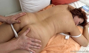 Granny got fucked make sure of rub down - red mary