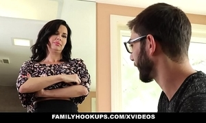 Familyhookups - hawt milf teaches stepson though to light of one's life
