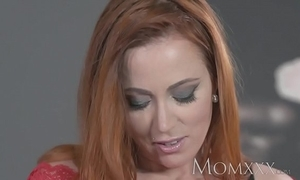 Mama sexy redhead sucks and fucks in life kin man in advance hot creampie