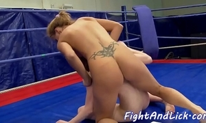 Redhead poofter fingering say no to hostile