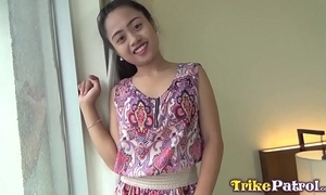 Jovial filipina milf with cute mousy cream barebacked relating to angeles bishopric hotel