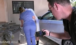 Slyness - pawg aj applegate has mating unaffected by a difficulty job