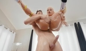 Blonde pornstar Luna Eminence drilled connected with hardcore making love connected with say no to asshole anal making love together with then spunk fountain connected with say no to indiscretion