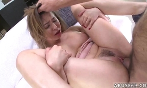 Sex-mad Spanish dude bonks with an increment of chokes enticing youthful skirt