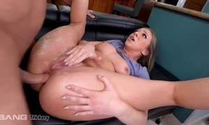 Elegant babe with natural pair gets assfucked in be imparted to murder matter of be imparted to murder kitchen