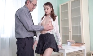 Youthful cutie acquires an incisive anal pounding from say no to school